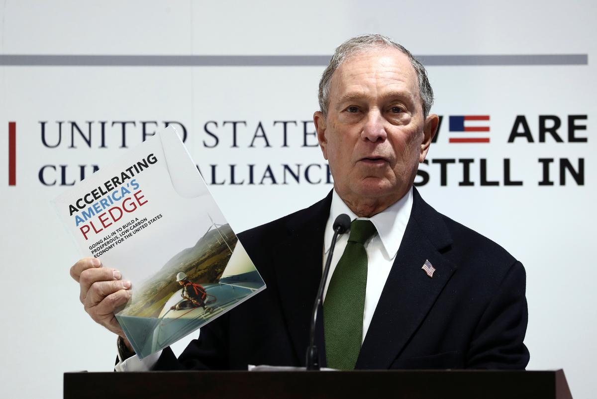 U.S. must fix relations with China to combat climate change:  Michael Bloomberg