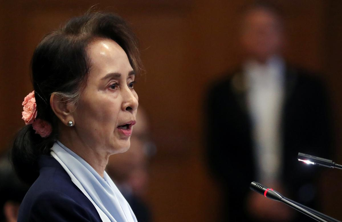 Myanmar's Suu Kyi: Gambia's genocide case at World Court