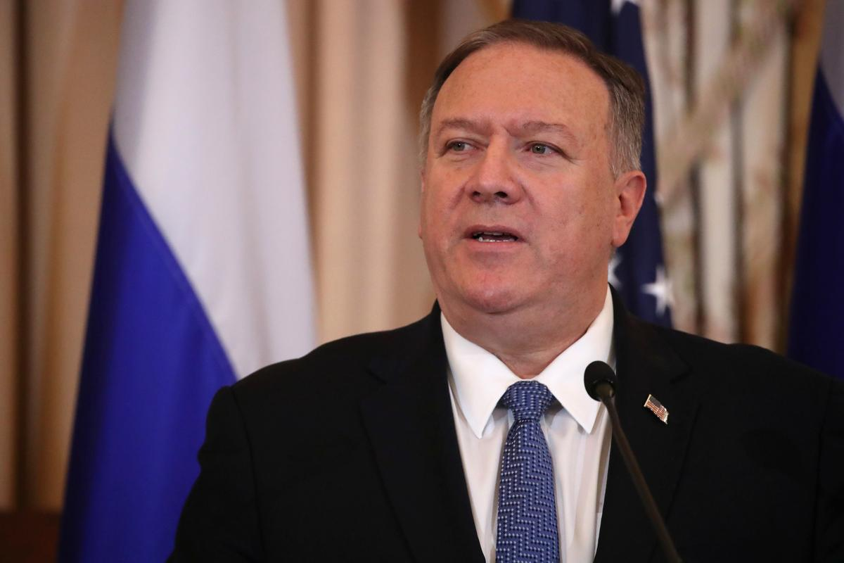 Pompeo condemns deadly Taliban attack on U.S. military base