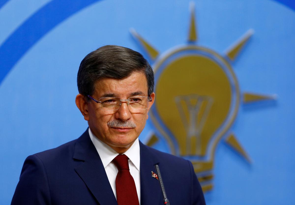 Former Turkish PM Davutoglu forms new party in challenge to Erdogan