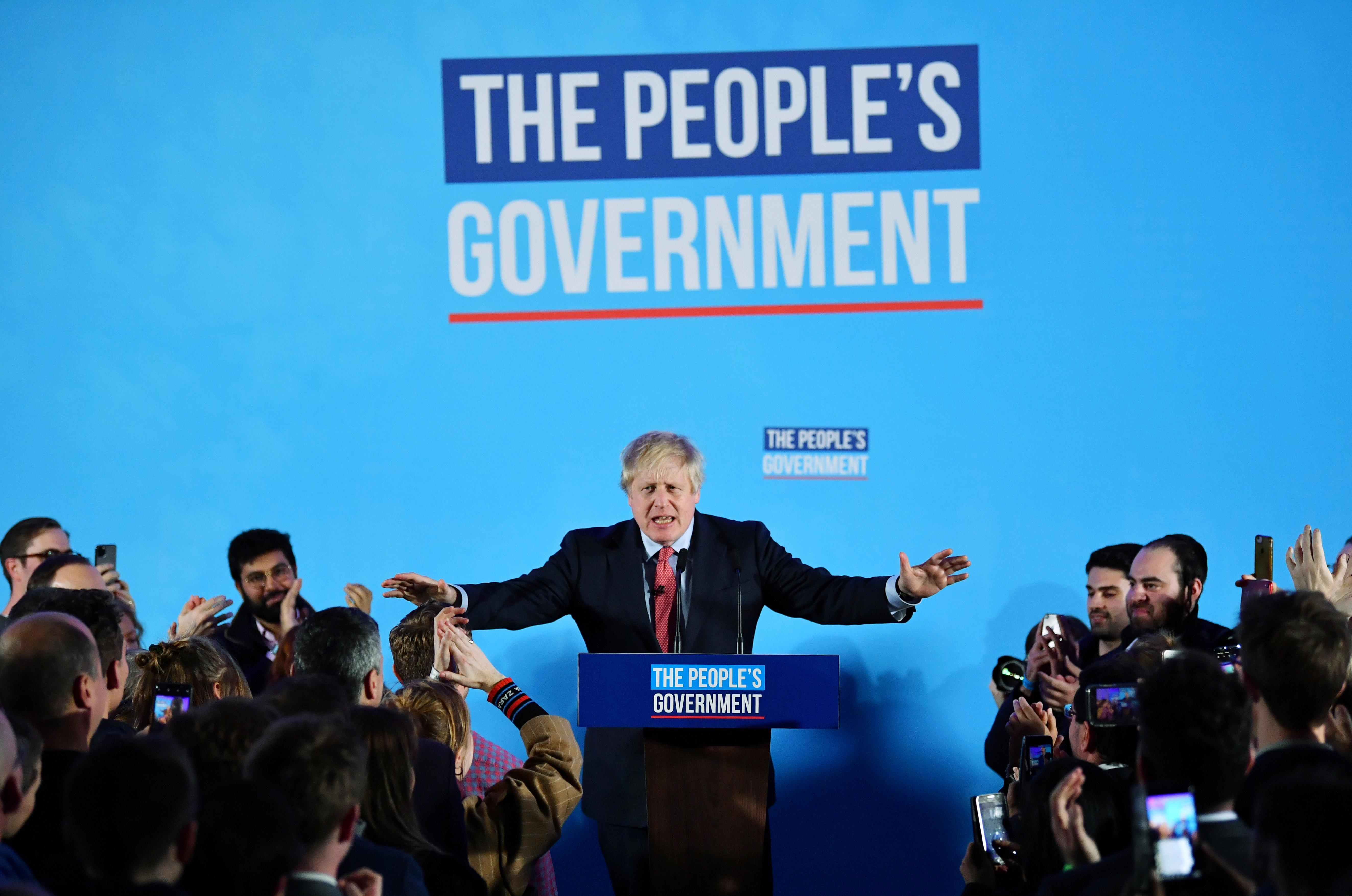 Britain speeds towards Brexit as Johnson wins large majority in...