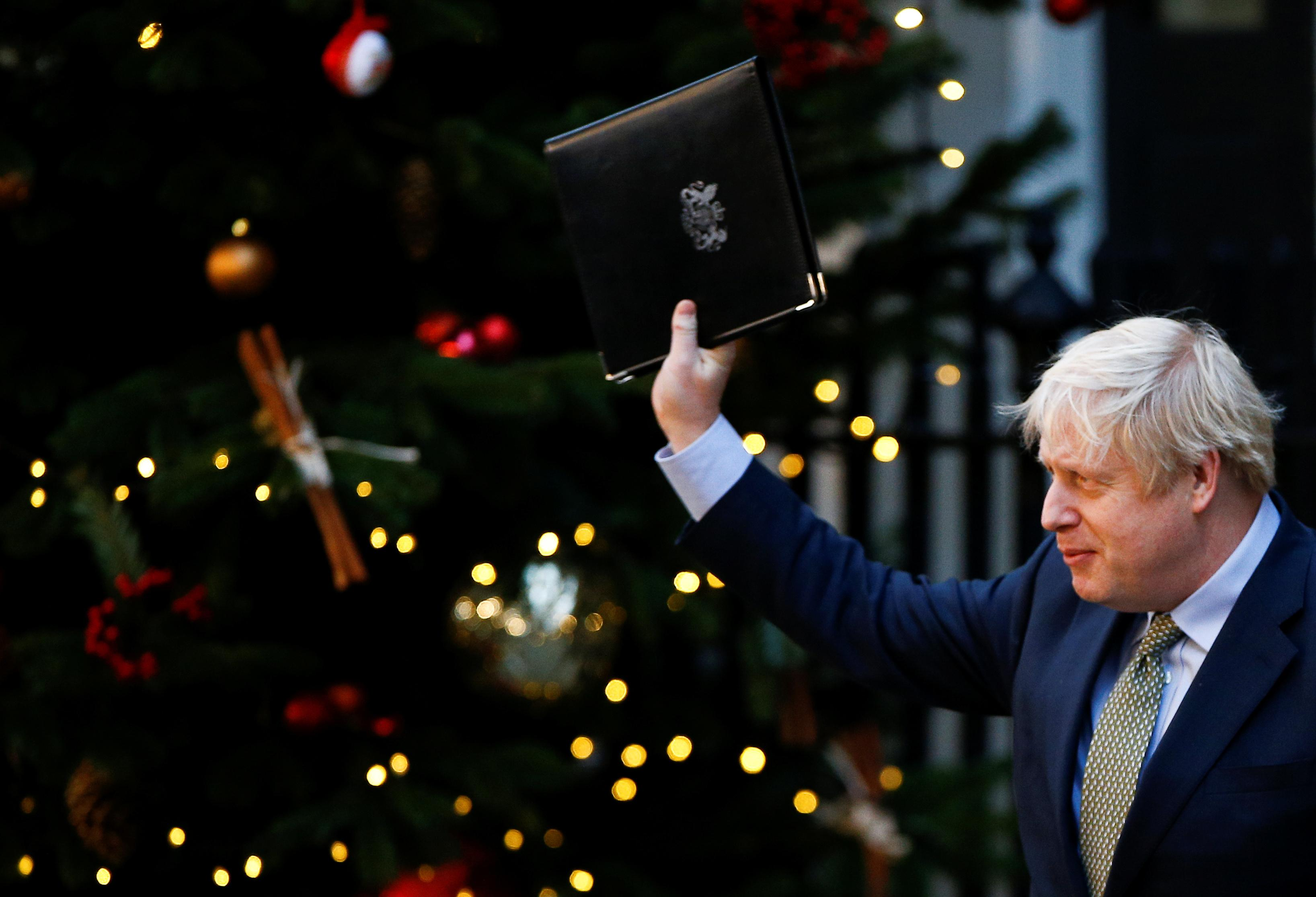 Let Brexit healing begin, Johnson says after commanding election...