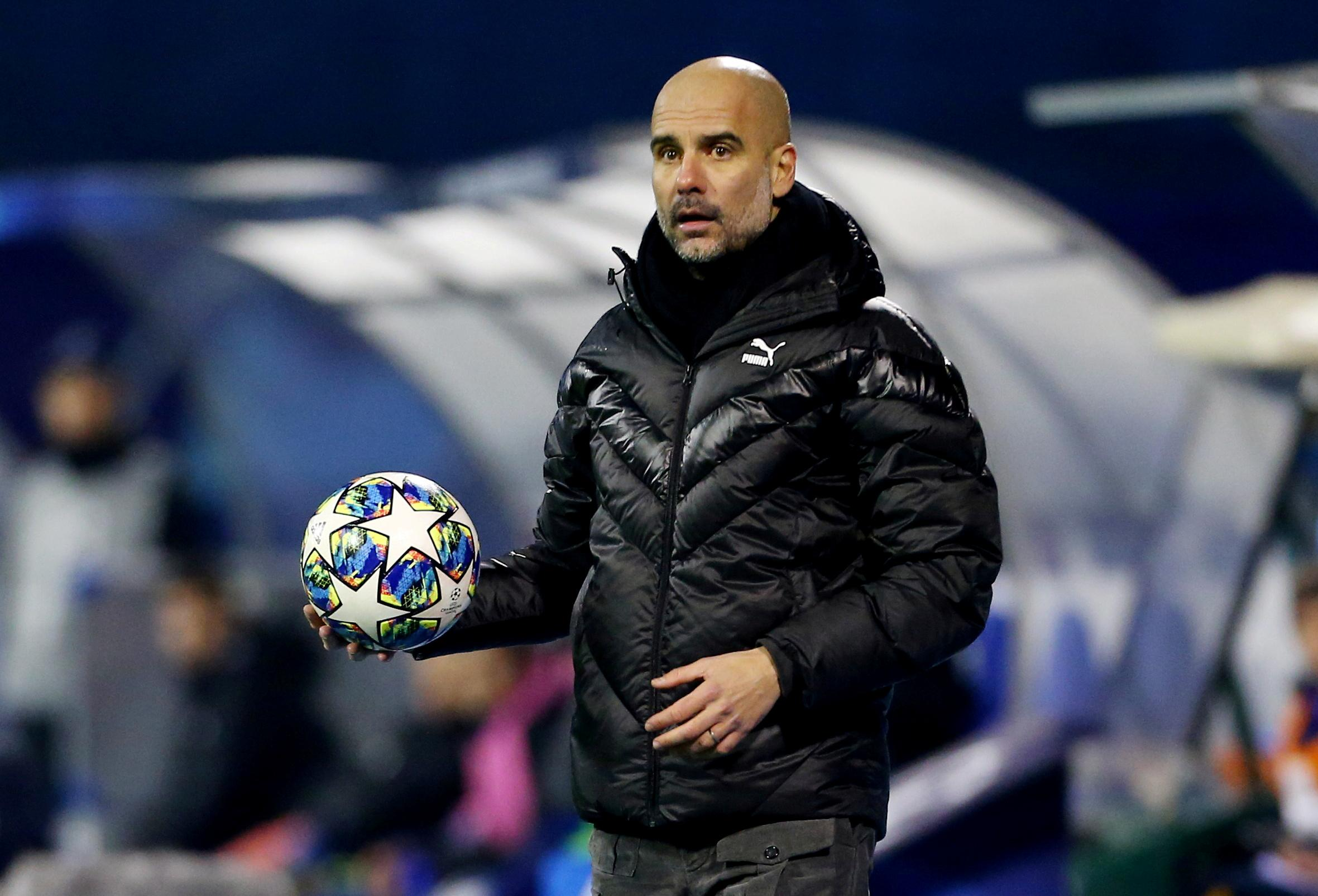 No break clause in City contract, says Guardiola