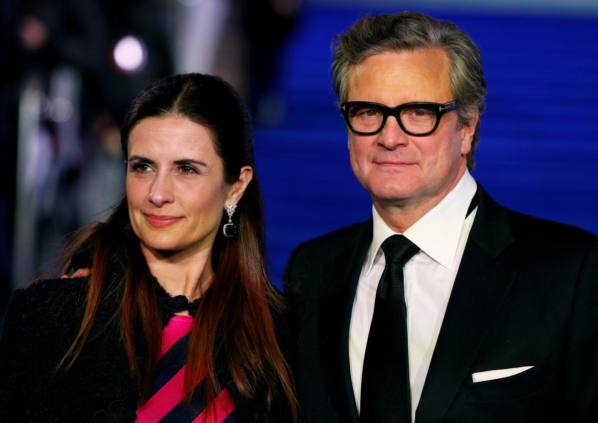 Image result for Actor Colin Firth splits from wife Livia after 22 years of marriage