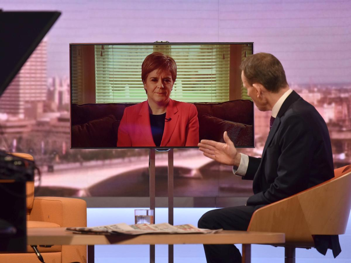 UK PM Johnson cannot keep Scotland in union against its will: Sturgeon