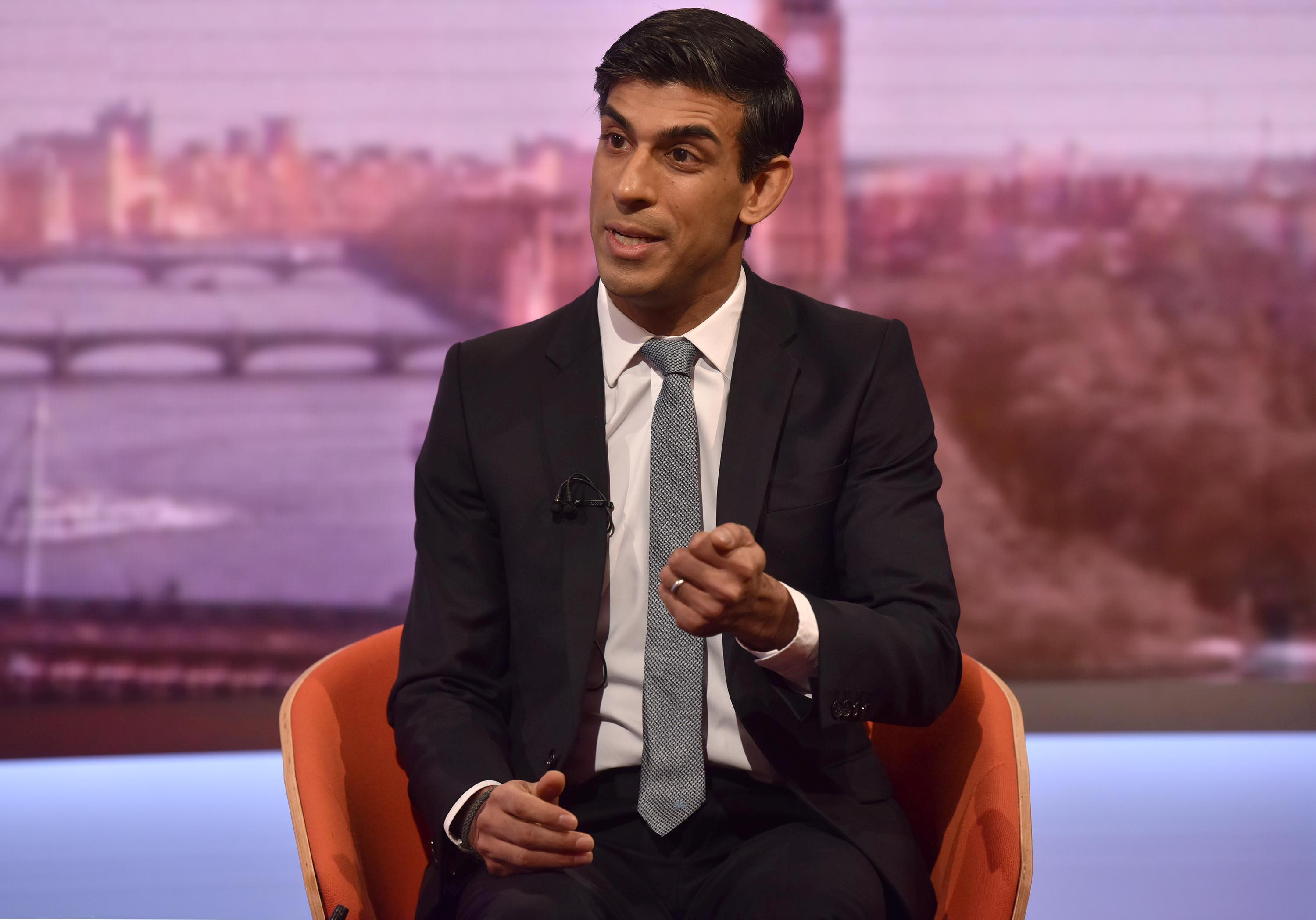 Brexit law to return to parliament before Christmas: deputy FM Sunak