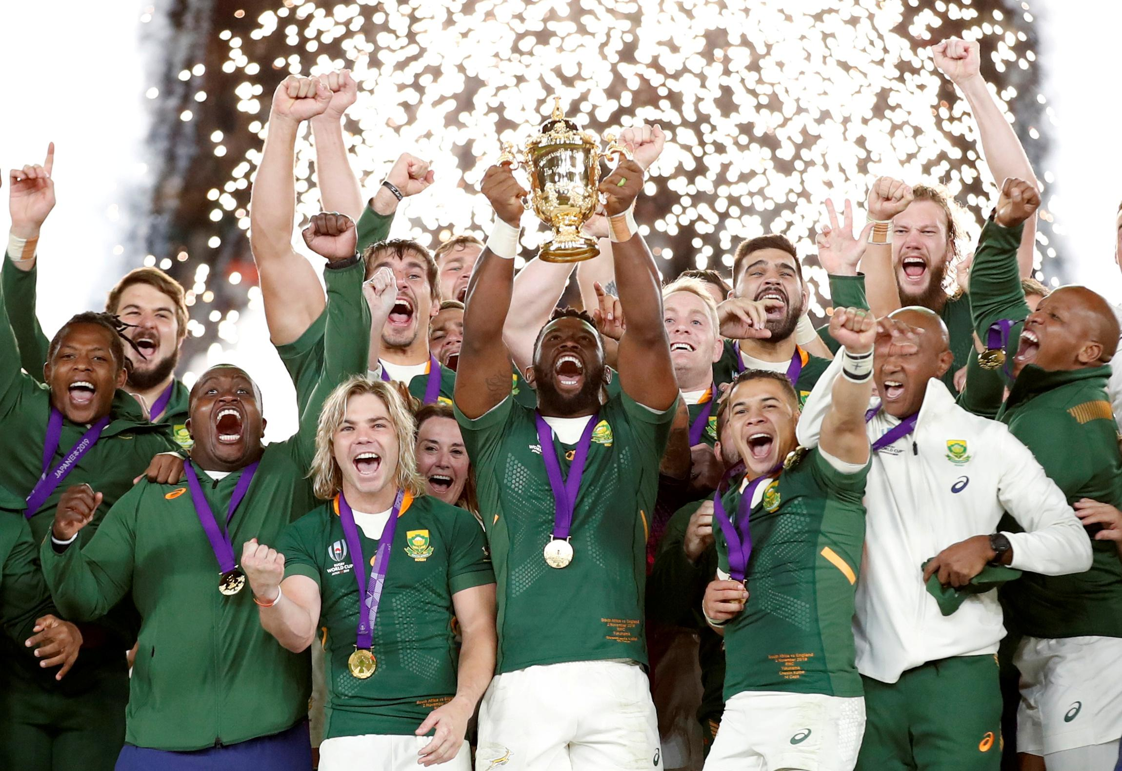 Pot of gold for Rainbow Nation seals South Africa's remarkable 2019