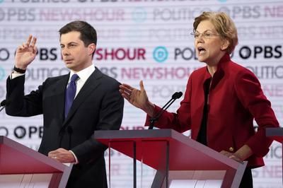 Democratic 2020 candidates debate in Los Angeles