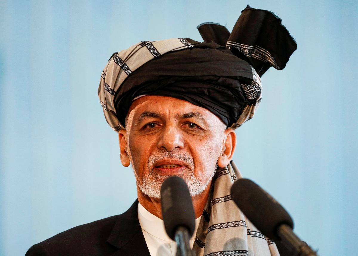Afghanistan's Ghani claims narrow win in preliminary presidential vote results