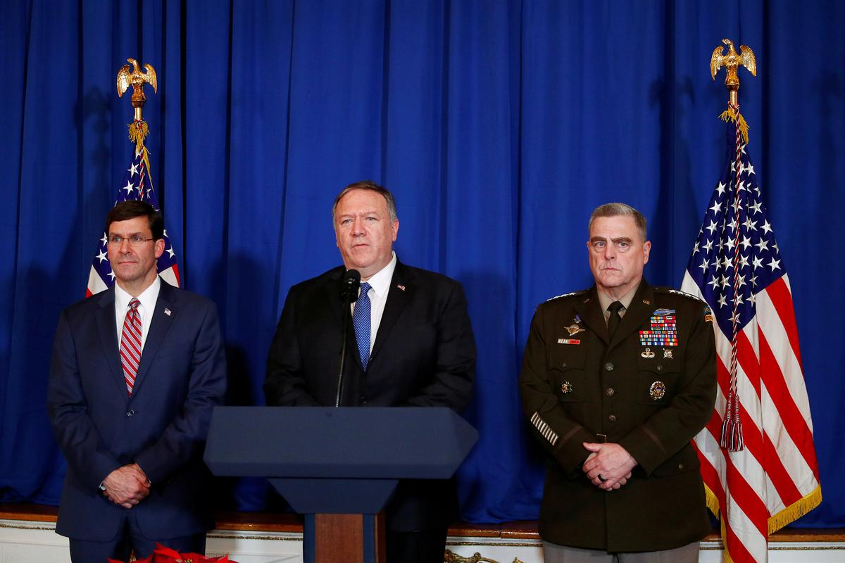 Trump aides call U.S. strikes on Iraq and Syria 'successful,' warn of potential further action