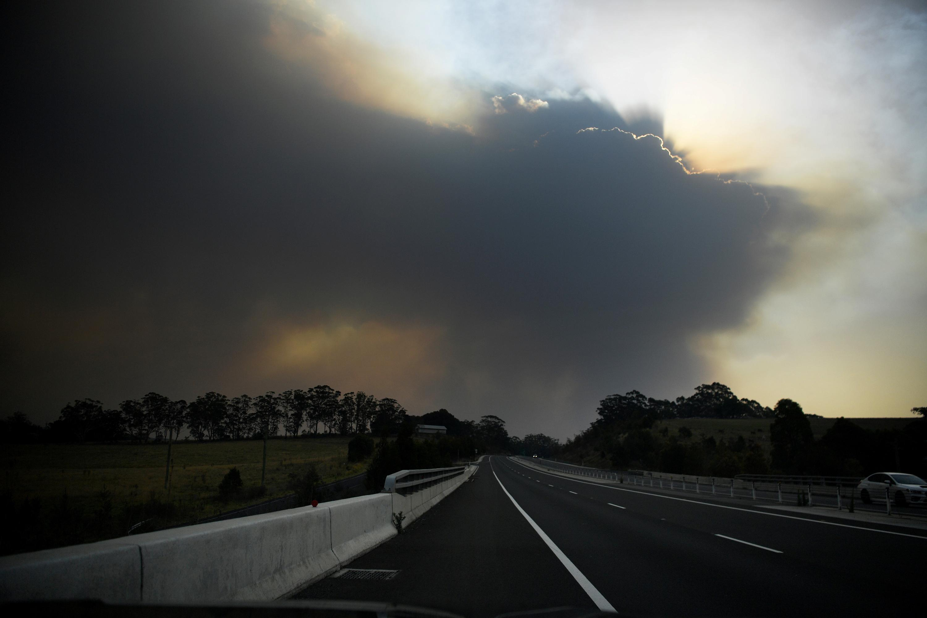 'I will never go back': traumatized bush fire evacuees land in...