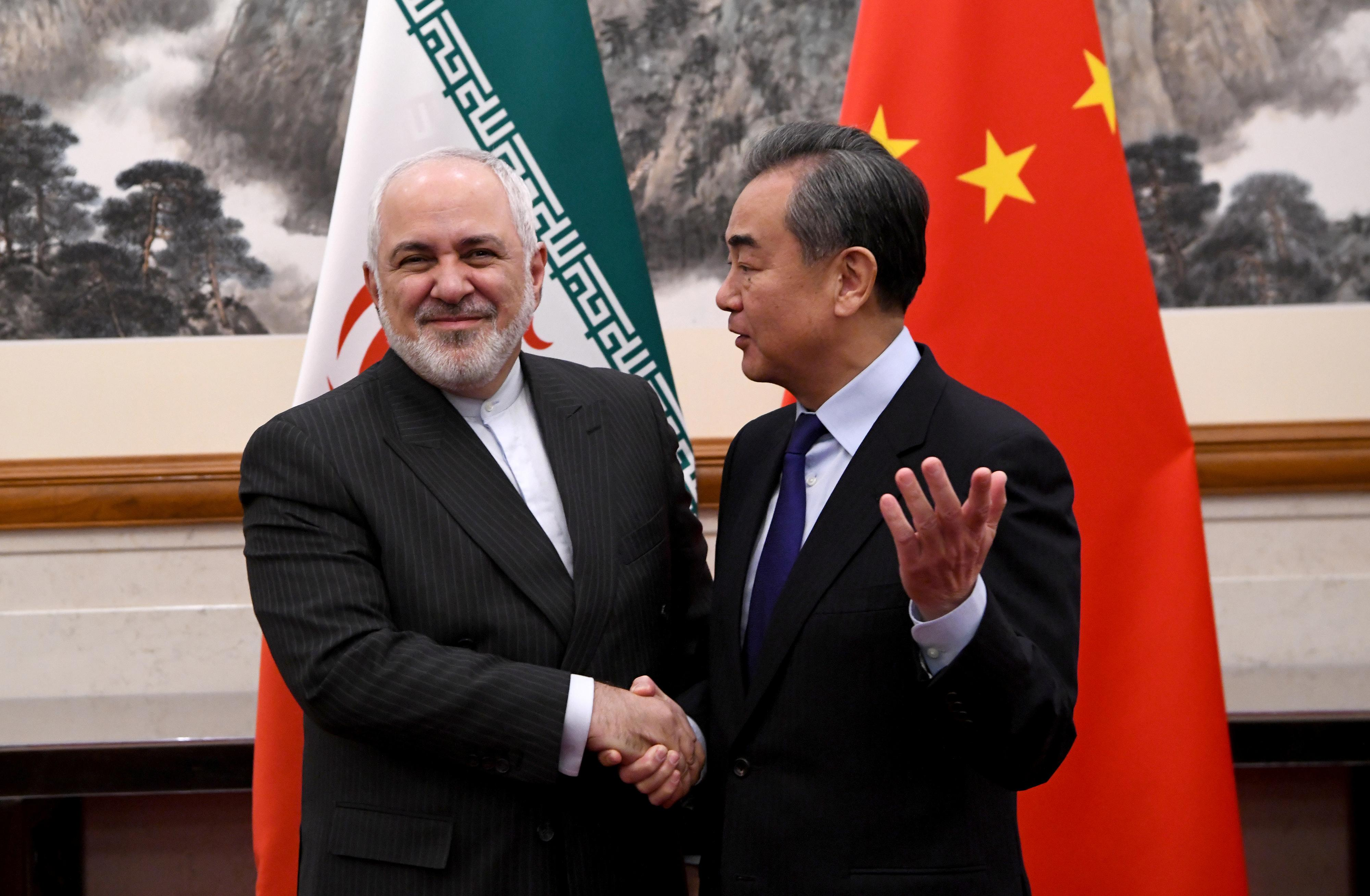 China tells Iran foreign minister that U.S. should stop 'abusing'...