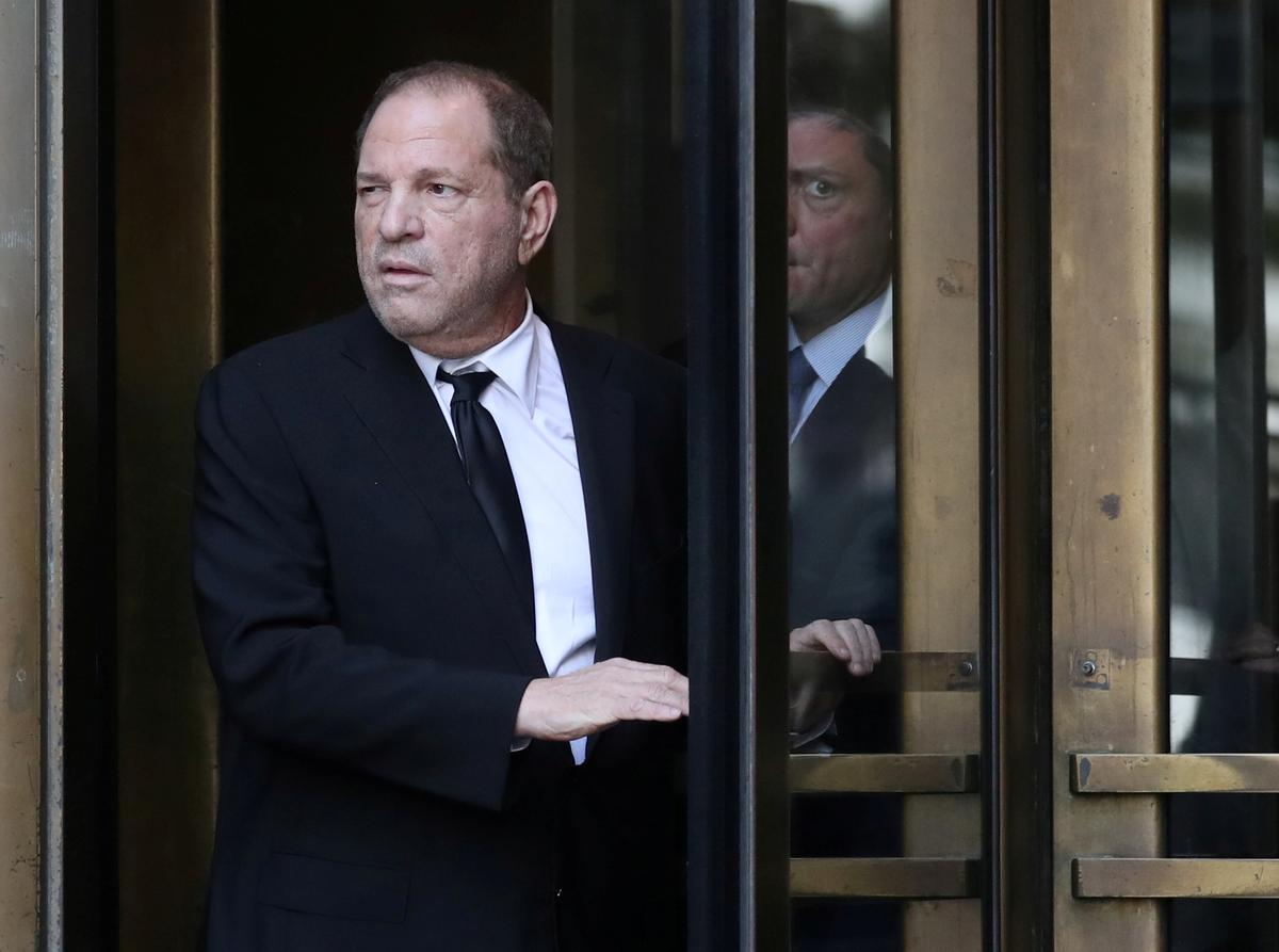 Weinstein rape trial begins with film producer facing up to life in prison
