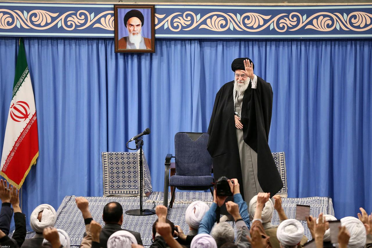 Image result for Iran's supreme leader says missile strike a 'slap on the face' for U.S.