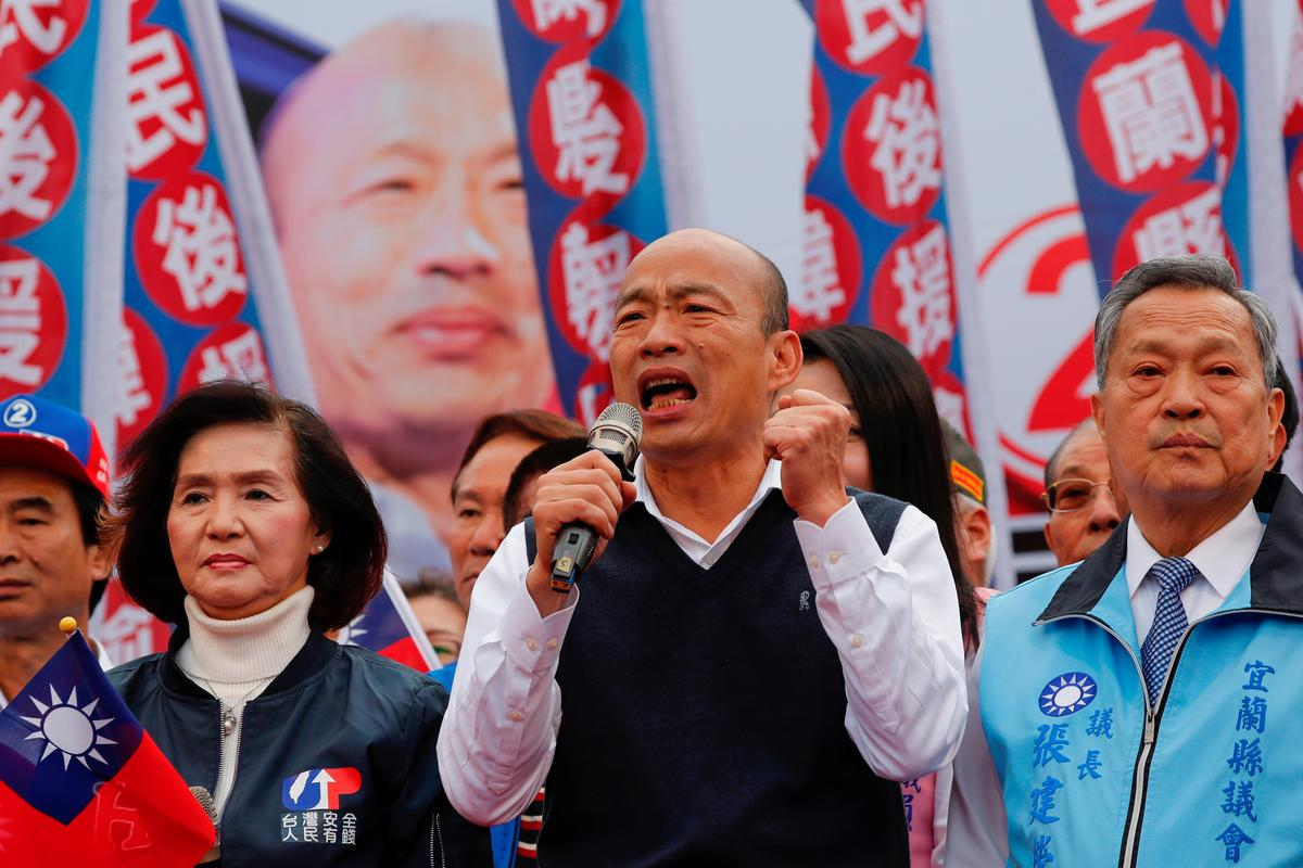 Taiwan's China-friendly presidential hopeful faces backlash in divided south