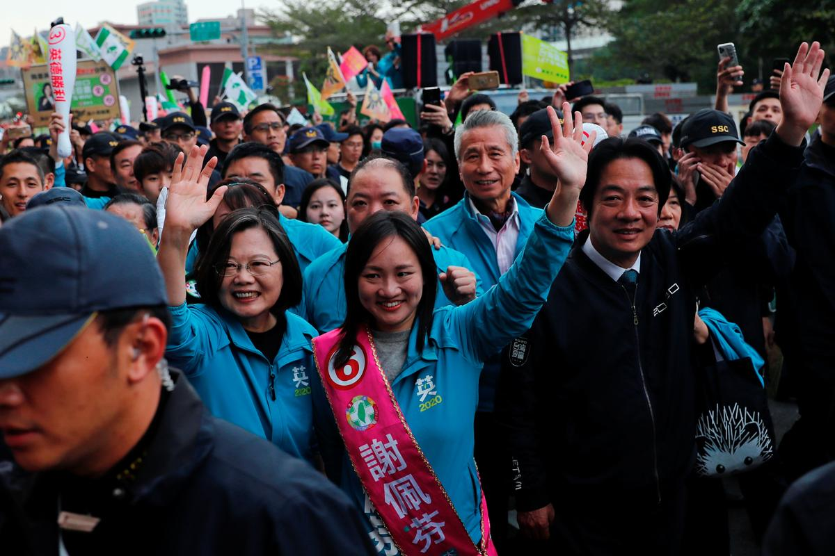 Show Hong Kong value of democracy, Taiwan president says before vote