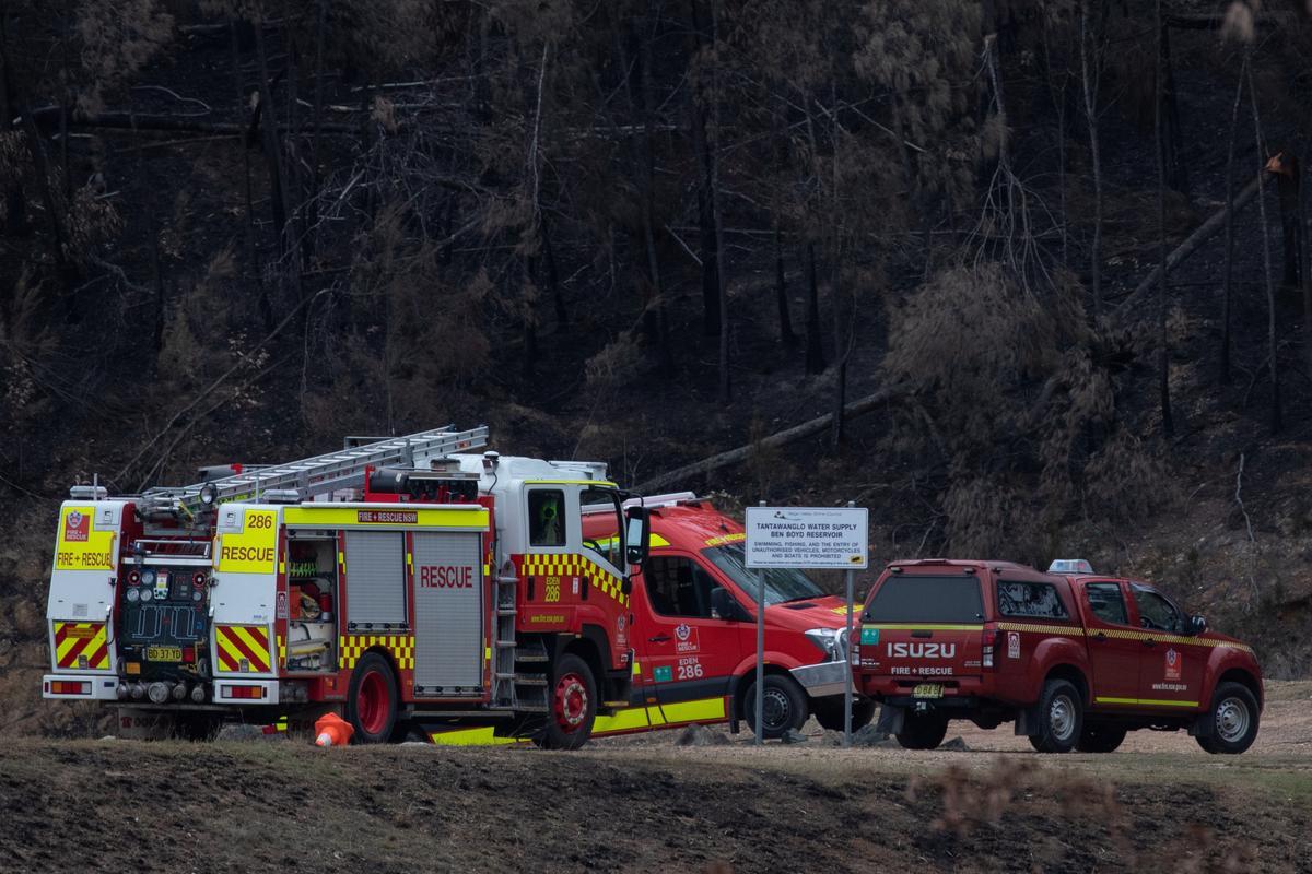 Sizing up Australia's bushfires