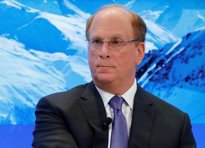 Image result for Larry Fink davos