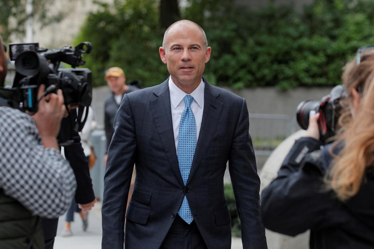 Trump antagonist Avenatti's bail is revoked, threatening Nike trial in New York
