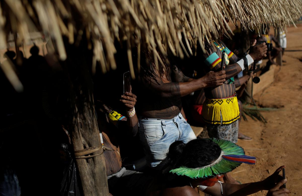 Brazil's tribes stride into digital age to defend their culture,...