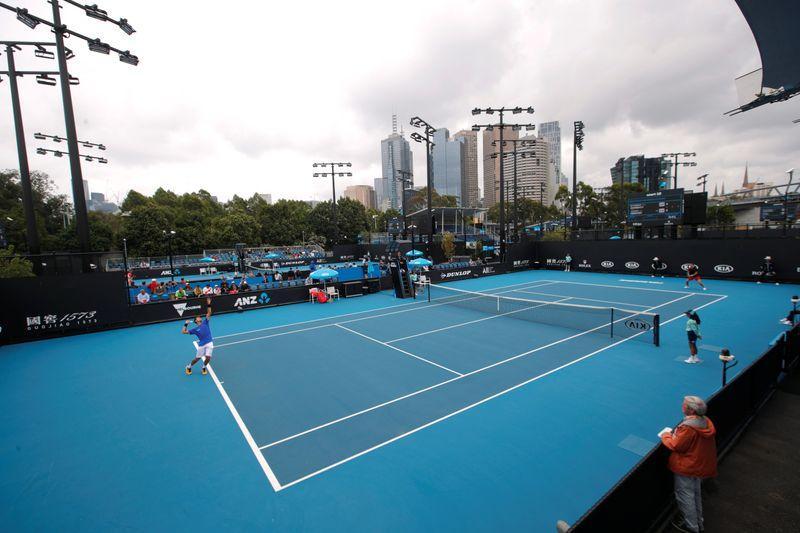 Australian Open order of play on Monday
