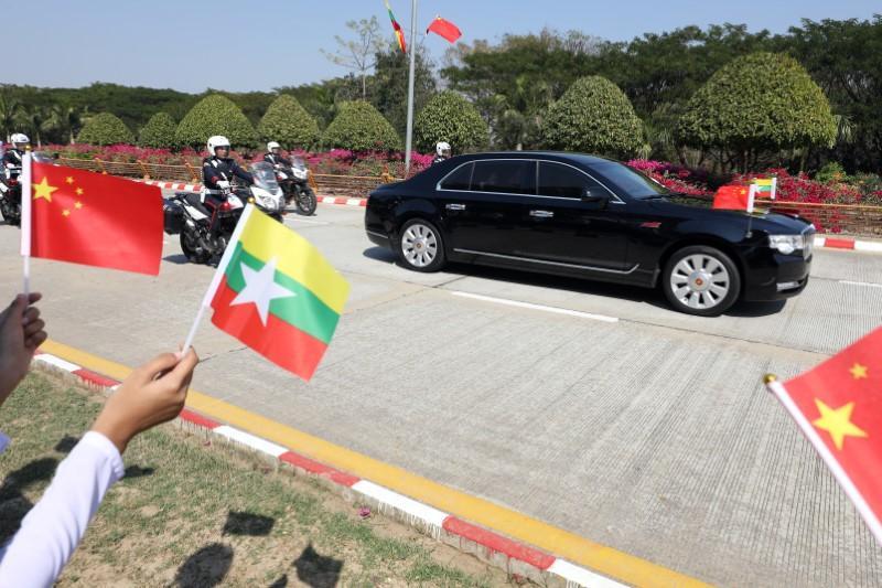 As China's Xi visits Myanmar, ethnic groups rue 'disrespectful'...
