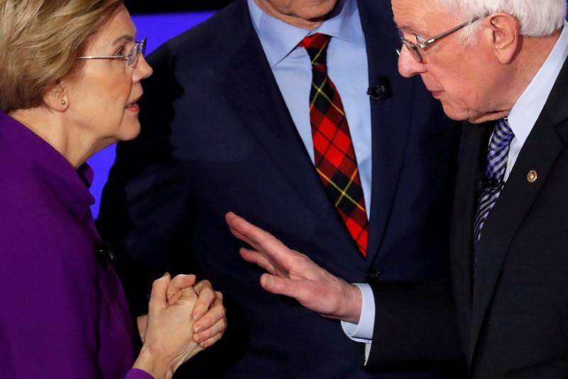 After feud with Warren, Bernie Sanders releases ad aimed at women