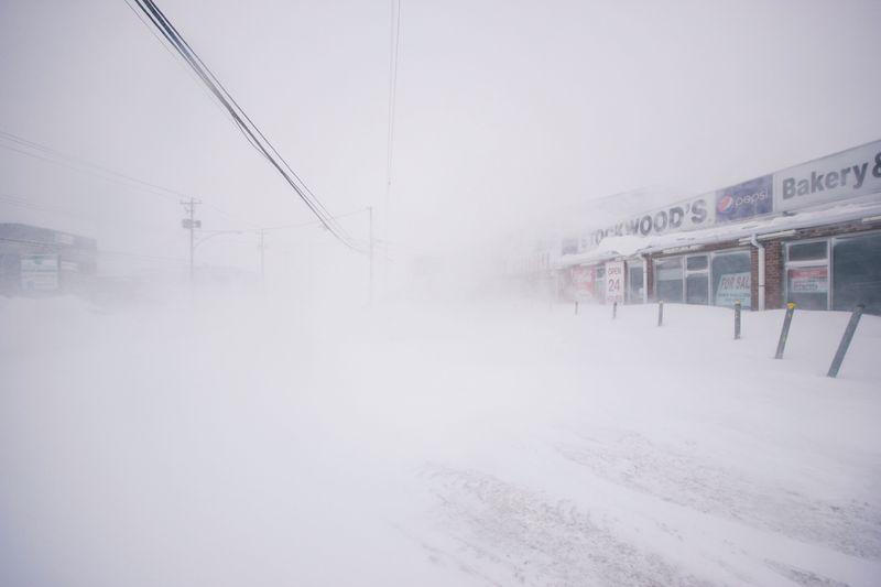 Blizzard slams Canada's Newfoundland, state of emergency declared...