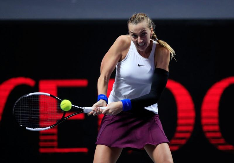 Kvitova, Halep driven by Australian Open heartbreak
