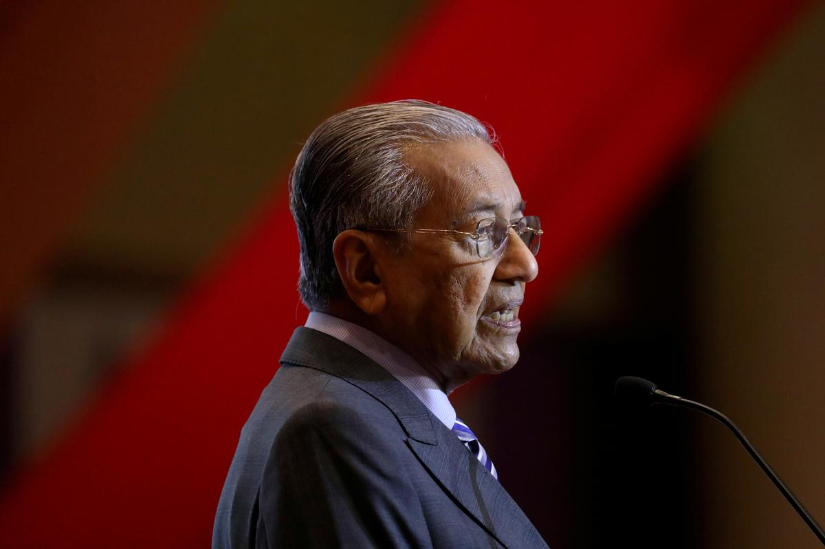 Malaysian PM Mahathir says ruling coalition could be a one-term government