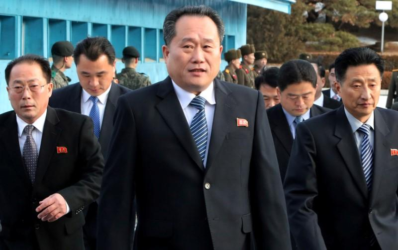 North Korea's Kim taps tough-talking military veteran as foreign minister