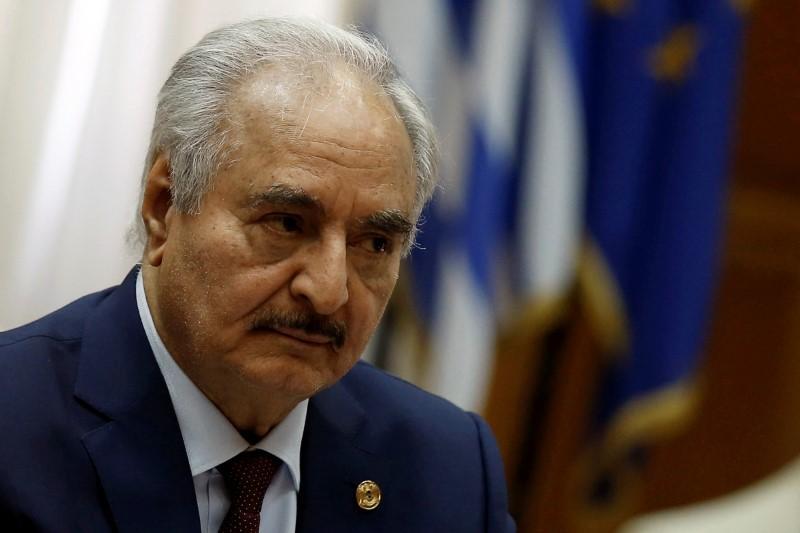 Turkey says Libya's Haftar must choose political solution