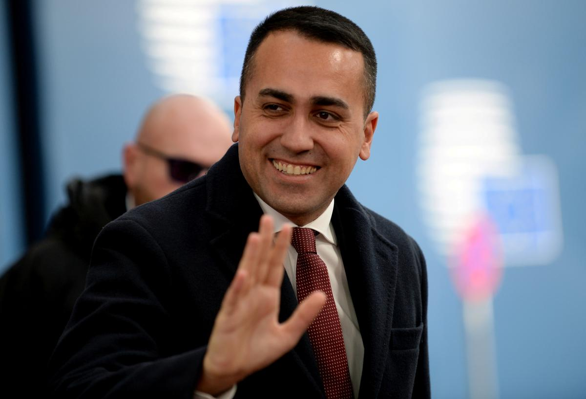 Italy's Di Maio to quit as 5-Star leader: source
