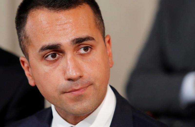 Italy's Di Maio seen quitting as 5-Star leader in blow to government
