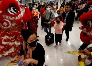 Lunar New Year travel rush