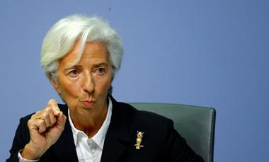 """焦点:欧洲央行新总裁拉加德启动政策检讨 承诺将""""不遗余力"""""""