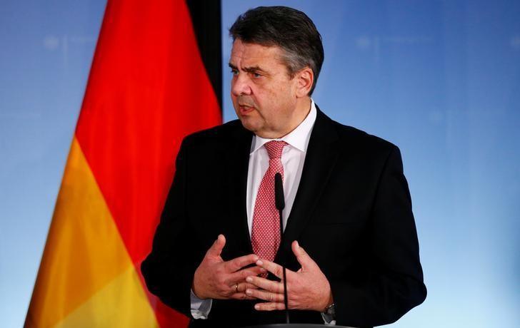 Image result for former German government minister Sigmar Gabriel