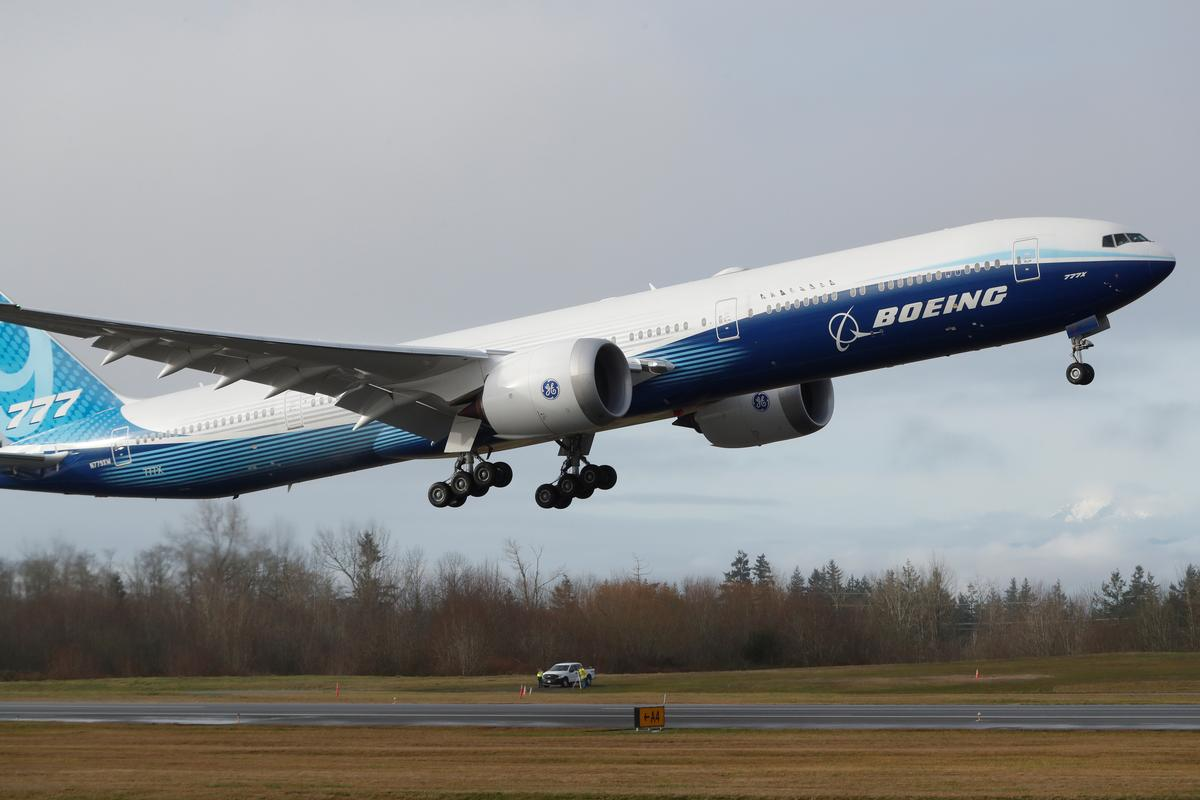 Boeing's 777X jetliner successfully completes maiden flight