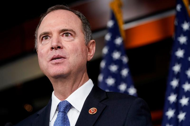 Trump says lead impeachment Democrat Schiff has not paid 'price, yet'