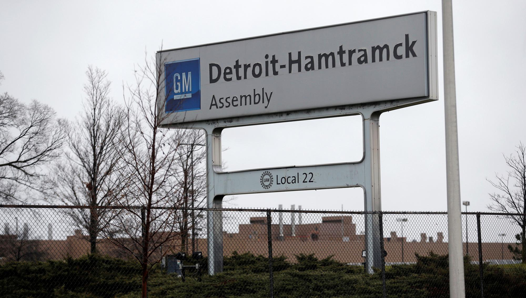 GM to invest $2.2 billion at Detroit factory to make electric trucks, SUVs