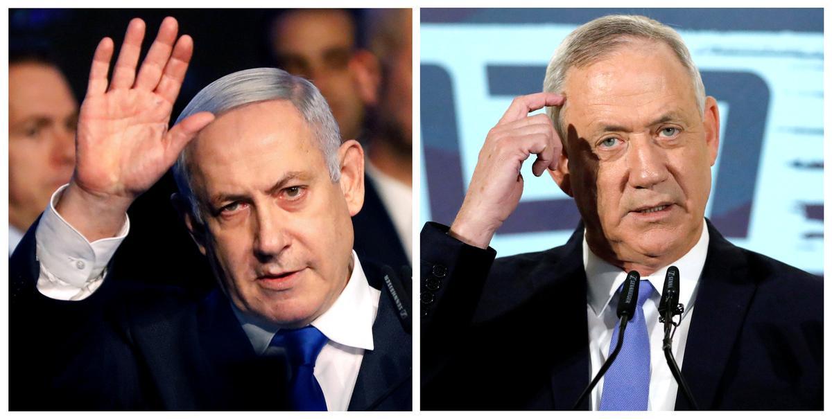 Trump meeting lends PR boost to political rival of Israel's Netanyahu