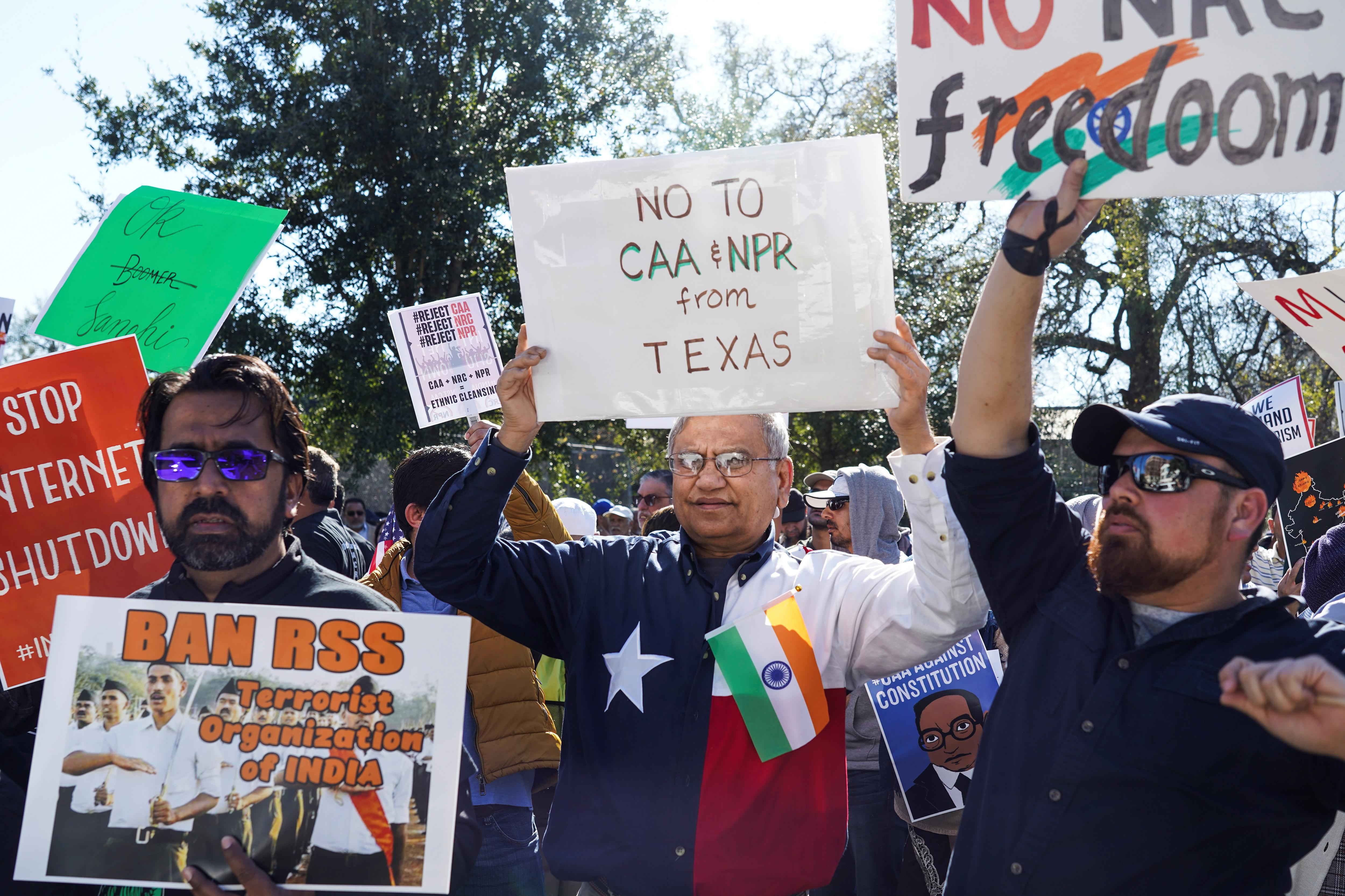 Four months after 'Howdy, Modi!', some Indians abroad protest over...