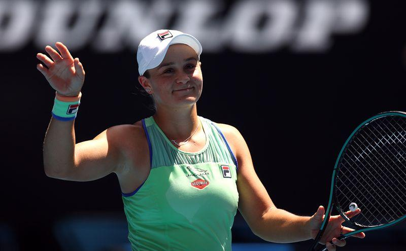Barty avenges Kvitova defeat to reach semi-finals