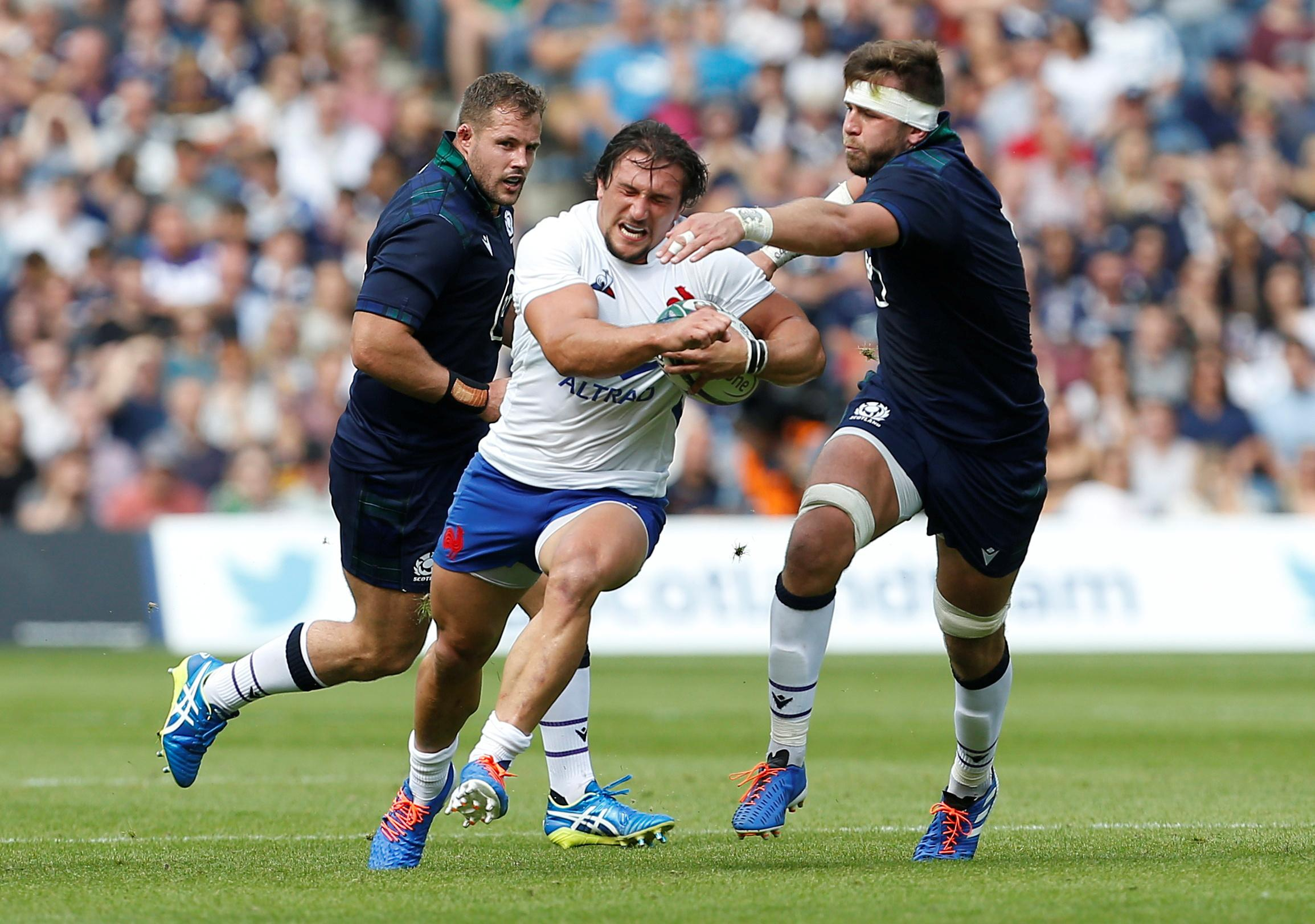 Rugby: Chat's injury leaves French front row under cosh for England...
