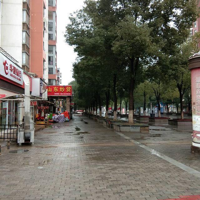 Se ve una calle en Wuhan, Hubei, China, 26 de enero de 2020. WAYNE DUPLESSIS, WYATT DUPLESSIS, EMILY TJANDRA / vía REUTERS
