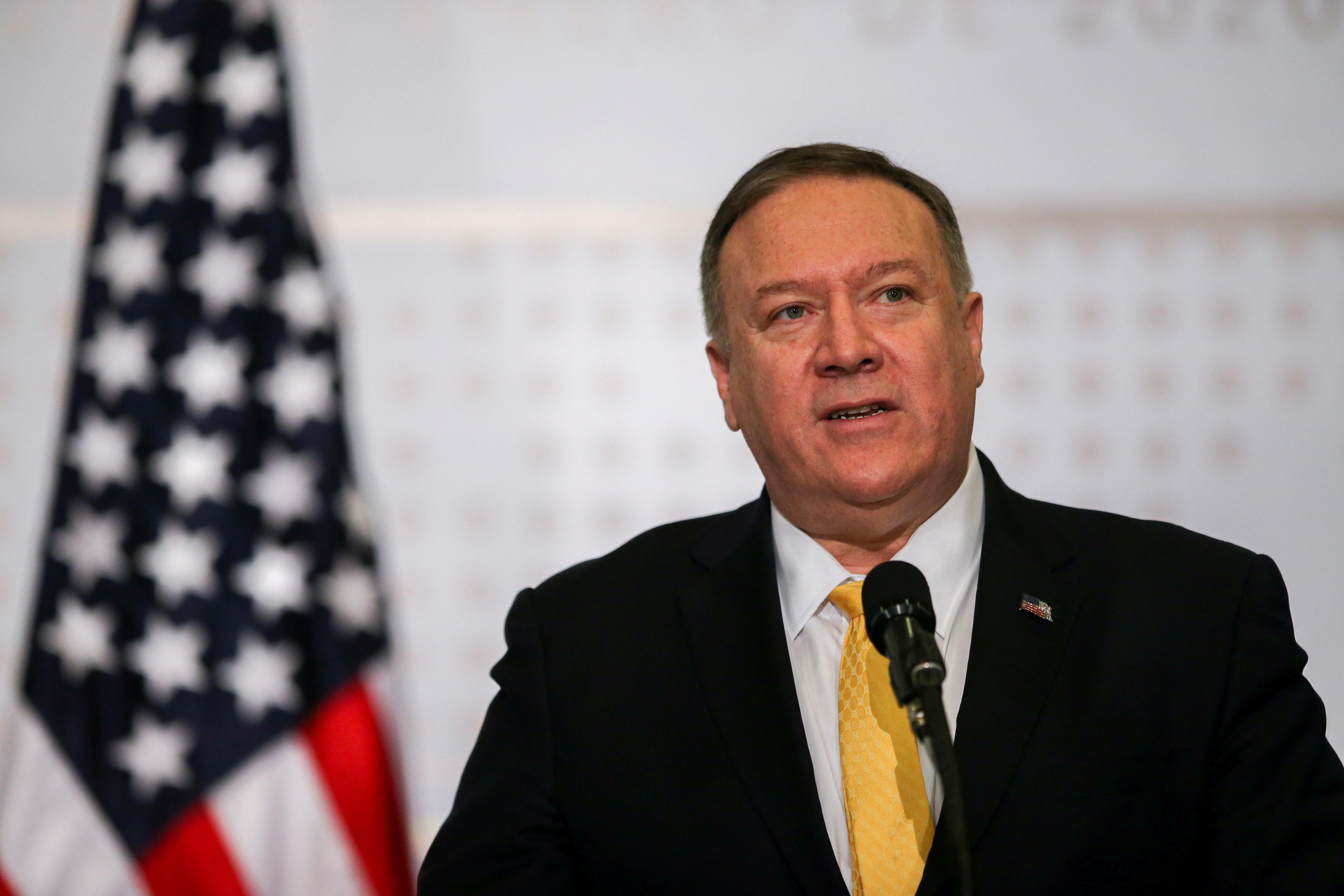 U.S. House committee says Pompeo agrees to testify on Iran, Iraq...