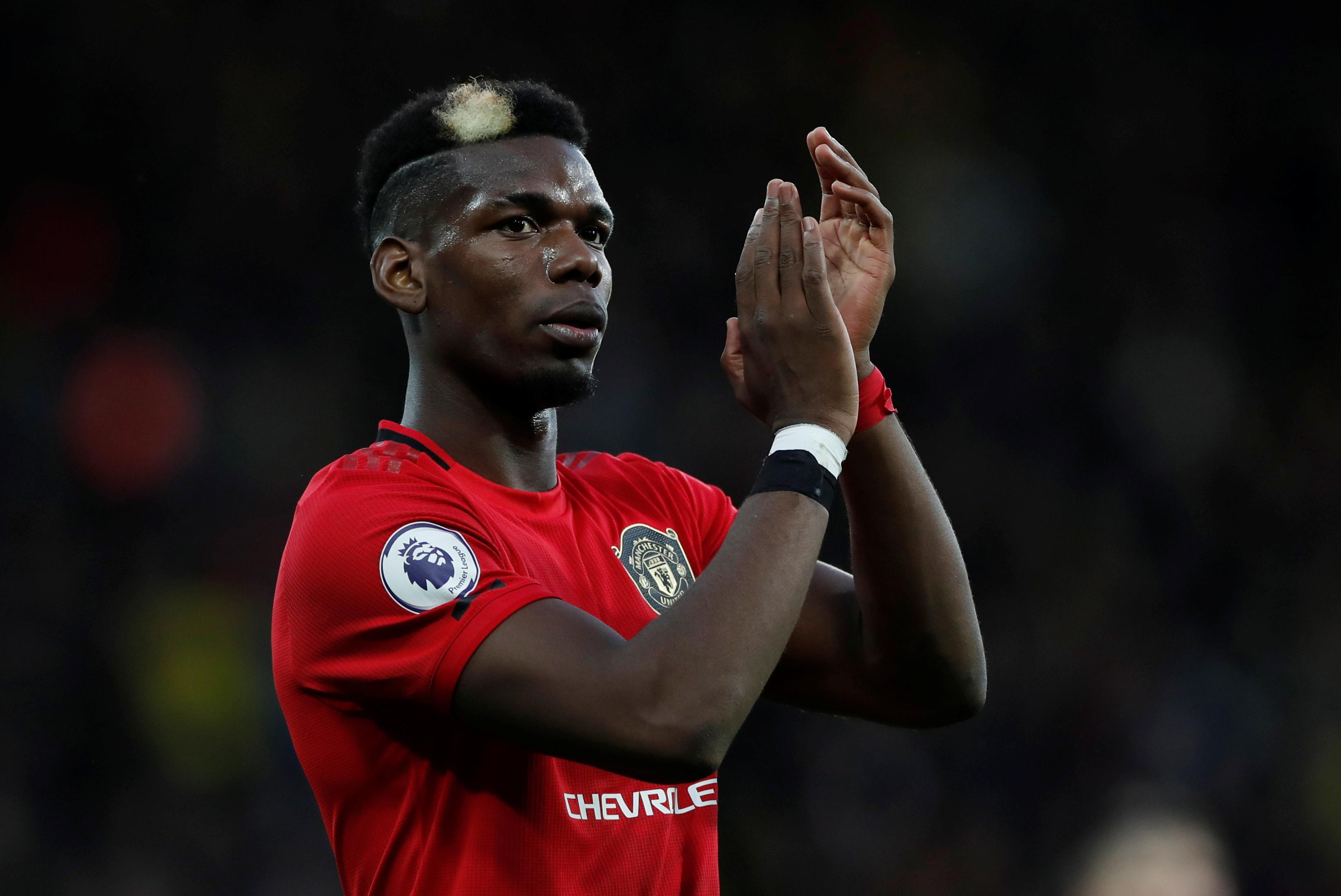 Man Utd's Pogba 'desperate' to play, says Solskjaer