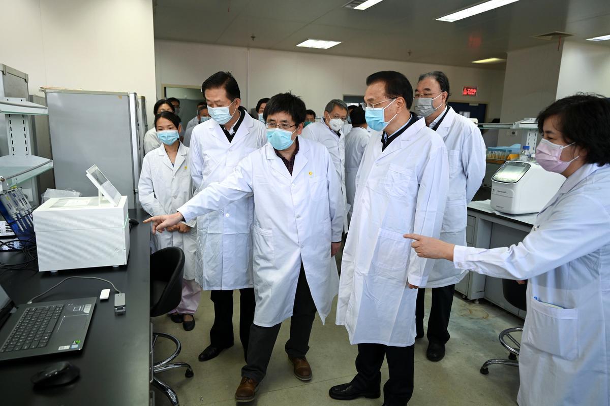 China's Premier Li asks EU to facilitate urgent procurement of medical supplies