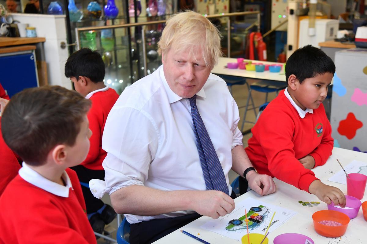 'Britain will prosper': PM Johnson sets out tough terms for EU talks