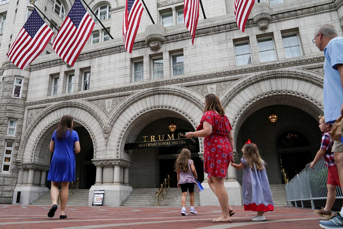 In another Trump win, court tosses Democrats' suit over his businesses